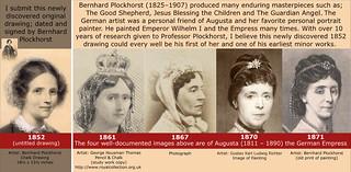 New  Image of Empress Augusta 1852 Bernhard Plockhorst