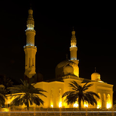 A Mosque in Dubai (Walid Mahfoudh) Tags: square nikon dubai uae mosque tokina squareformat mosque