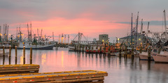 Twilight at Pass Harbor (Lane Rushing) Tags: boats dawn harbor pier twilight dock passchristian bigmomma passchristianharbor herowinner storybookwinner