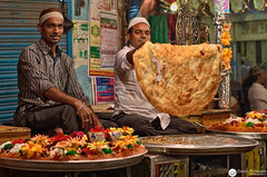 Halwa Paratha Stall at the Urs Fair of a Sufi Saint ( Rizwan Mithawala) Tags: india saint festival fruit bread sweet coconut dry bombay offering mumbai sufi confection flatbread urs rizwan paratha dargah garnishing mithawala hajiabdulrehmanshahbaba