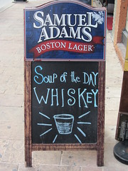 Soup of the day: Whiskey (Leo Amato) Tags: sign austin texas whiskey sxsw cartel soupoftheday
