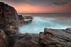 Boat Harbour - Port Stephens (Kiall Frost) Tags: ocean longexposure sky sun colour water sunrise nikon le portstephens boatharbour kiallfrost d800e