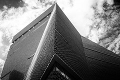 Switch House (julchan) Tags: tatemodern switchhouse architecture brickwork perspective blackandwhite london southbank