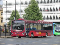 Burnley & Pendle 1870 FJ58LTX Keighley Bus Stn on M4 (1) (1280x960) (dearingbuspix) Tags: burnleypendle transdevburnleypendle 1870 fj58ltx transdev mainline