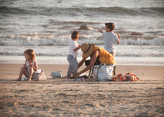 Beached (The Noodle!) Tags: coronado crystal engagement katie rick california family sand ocean sunset kids