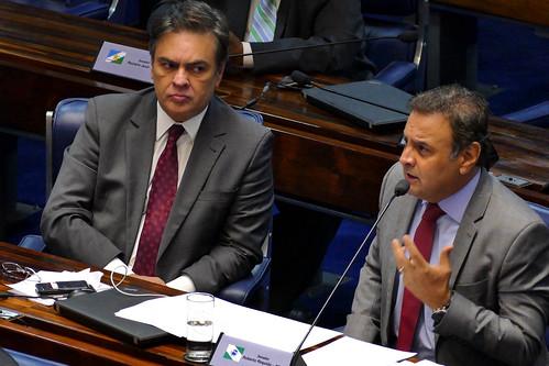 Aécio Neves - Julgamento do Impeachment - 27/08/2016