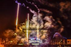 _DSC0721 (marilynwe) Tags: 2016 becca chris family marinersgame rebecca safecofield turnerfamily fireworks