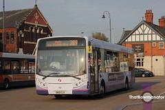 First Manchester 67425 (Luke Bowman's photography) Tags: first manchester 67425 adl e30d e300 enviro 300 ashtonunderlyne bus station