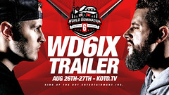 KOTD  #WD6ix Official Trailer  Aug. 26-28... (battledomination) Tags: kotd  wd6ix official trailer aug 2628 battledomination battle domination rap battles hiphop dizaster the saurus charlie clips murda mook trex big t rone pat stay conceited charron lush one smack ultimate league rapping arsonal king dot freestyle filmon