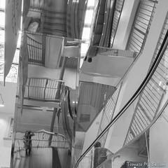 Escher in Milan (tomaso.belloni) Tags: escher europe italy milan milano building city photography reflection stairs urban
