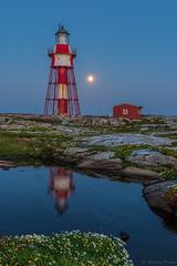 DSC_2327_1024 (Vrakpundare) Tags: sweden sverige vstkusten westcoast lighthouse sunset fyr solnedgng reflections spegling bohusln