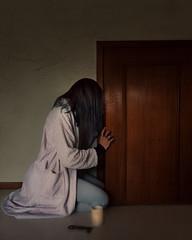 """Strange little door"" (Adi Korndrfer) Tags: selfportrait coraline neilgaiman literaryweek coralineweek justbecauseilove 366project fineart fujifilm conceptual"