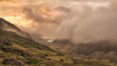 Head in the clouds (Captain Nikon) Tags: llanberis llanberispass mountains snowdonia snowdonianationalpark northwales wales lowcloud moody panoramic stitched nikon18105mm nikond7000