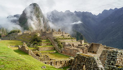 The Fortress (Robelier Photoexplorer) Tags: machupicchu cusco peru urubamba ruins arqueology green fog travel outdoor andes mountains