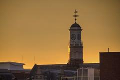 Holy Trinity Church, Warrington (Rich3012) Tags: warrington cheshire england uk holy trinity church tower sunset sky