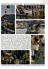Show Business Illustrated, October 31, 1961 06 - Disneyland 1961 (Tom Simpson) Tags: disney vintage disneyland vintagedisney vintagedisneyland 1961 1960s skyway monorail submarinevoyage