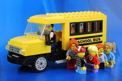 First School Day Blues! (Lesgo LEGO Foto!) Tags: lego minifig minifigs minifigure minifigures collectible collectable legophotography omg toy toys legography fun love cute coolminifig collectibleminifigures collectableminifigure students student schoolbus school bus car september1 schoolday day firstschoolday blues child children teacher driver friends vehicle yellowschoolbus yellow