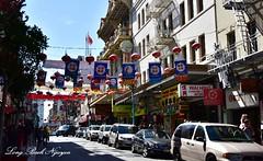 San Francisco Chinatown, California 196 (longbachnguyen) Tags: sanfrancisco chinatown laterns transamericabuilding coittower california usa