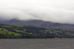 Whispy Hills (Andy Tee) Tags: bala lake wales cymru long exposure hills mountains whisp whispy ghostly murk water