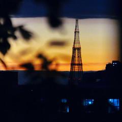 sunset (Gjabu) Tags:       sunset sky evening moscow lights cityscape
