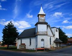 Former First Presbyterian Church - Gravette, Arkansas (danjdavis) Tags: firstpresbyterianchurch presbyterianchurch oldchurch abandonedchurch church bentoncounty arkansas