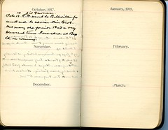 Diary of Robert Wallace p.68 (Community Archives of Belleville & Hastings County) Tags: 1880s 1890s 1900s 1910s 1920s diaries homechildren