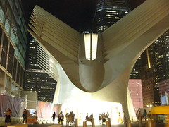 IMG_6665 (gundust) Tags: nyc ny usa september 2016 newyork newyorkcity manhattan architecture wtc worldtradecenter calatrava station path wtctransportationhub transportationhub void oculus wings sculptural verticality white steel glass lighting sun alignment 911 september11 memorial