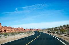 Endless Road (YUXIN.C) Tags: photostream roadtrip california losangeles desert scenery stunning endless