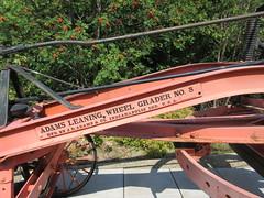 Grader (jamica1) Tags: chase museum bc british columbia canada adams leaning wheel grader