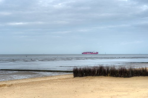 Wattenmeer at high Tide