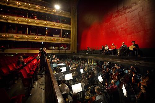 Royal Opera Live: the Sitzprobe rehearsal for The Minotaur ©  ROH / Sim Canetty-Clarke 2013