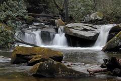 Water on the Rocks (NC Mountain Man) Tags: water creek moss nikon rocks stream d70s carolina brook ncmountainman phixe
