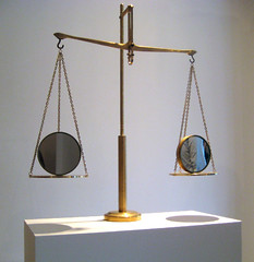 Balance _ Mirror, Mixed media
