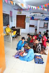 Students and their teacher (kananj) Tags: bhuj kutch bhirandiyara bhirandiara banni kanan kananj primary school kutchi gujarat people primaryschool students india kutchh village kutchhi gujarati women woman girl child children kananjani