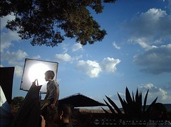 Lucio En rodaje (Fernando Barroso) Tags: clouds cementerio nubes filming revolucion lucio cementery gaelgarciabernal rodaje tramoya streamzoo