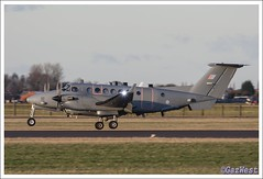 SHADOW R1 ZZ419 (Gaz West) Tags: shadow training plane grey king 5 aircraft secret air engine r1 beechcraft raytheon huron trainer multi raf ariels turboprop arial based waddington kingair rafwaddington cranwell multiengine coningsby 14sqn rafconingsby 5squadron 45rsqn sssssshhhhh zz419