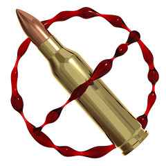 The price of Peace (Sylverarts Vector Art) Tags: sign illustration digital death 3d blood war different peace image symbol render creative special murder bullet concept conceptual allegory isolated cruelty cruel unlike