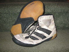 Gone to PAlattanze Kendall's (7.5) (RussoNJ) Tags: white black shoe shoes wrestling 7 8 pearl adidas 75 kendall rare kendalls
