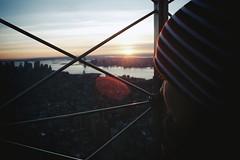 .empire state (.francesco) Tags: new york city trip travel sky usa newyork building art girl america canon river island high state metro manhattan taxi empire flare hudson grattacielo viaggio vacanza francesco ragazza sisco holday