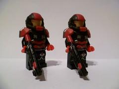 BloodGuards (Imperial Brick) Tags: trooper soldier lego guard mini figure warrior minifig custom brickwarriors