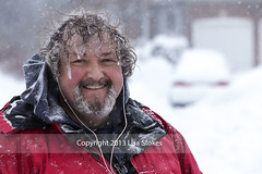 2013:365:039 (Lisa-S) Tags: winter portrait snow ontario canada michael lisas snowing 365 icicles day39 brampton shoveling invited 2588 day39365 201302 3652013 365the2013edition copyright2013lisastokes getty2013 08feb13 winterstormnemo getty20130212