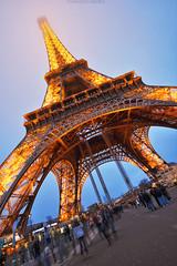 Eiffel Tower (endriuthomas) Tags: city travel sky paris france tower torre eiffel cielo francia viaggi hdr città parigi