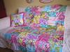 Circa quilt and throw pillow (sewfunbymonique) Tags: quilt circa sisboom jenniferpaganelli sewfunbymonique