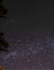 Before and After StarTrails (inefekt69) Tags: stars star nikon space trails astrophotography astronomy stacking universe stacked startrails deepskystacker d5100