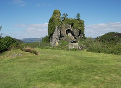 Tarbert Castle towerhouse. (hercon2000uk) Tags: towerhouse tarbertcastle upperbailey