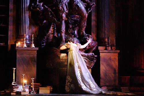 Martina Serafin as Tosca in Tosca © ROH / Catherine Ashmore 2011