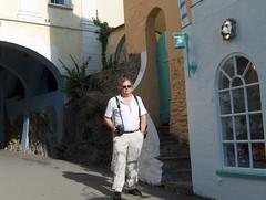 Portmeirion - HPIM3590 (Patrick Williot) Tags: wales de portmeirion snowdonia sir pays clough prisoner gwynedd galles prisonnier williamellis