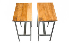 "Oak Top End Tables - End View • <a style=""font-size:0.8em;"" href=""http://www.flickr.com/photos/80301931@N08/8467386024/"" target=""_blank"">View on Flickr</a>"