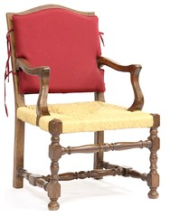 13. French Country Arm Chair