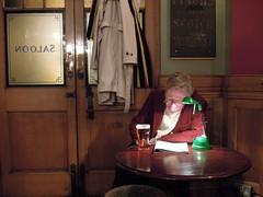 (a   e) Tags: uk light man color london english beer colors reading pub warm interior traditional british pint saloon
